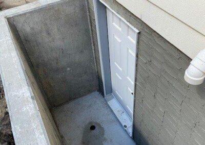 Basement Side Entrance